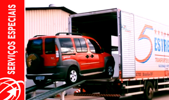 Transporte de ve[iculos Brasília DF